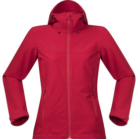Bergans Ramberg Softshell Jacket Women Strawberry/Red